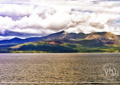Ile d'Aran vue du ferry