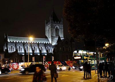 Christ Church de nuit