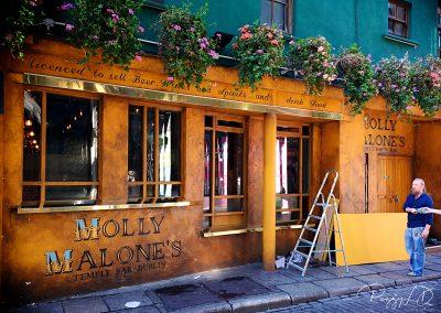 Devanture Molly Malone's