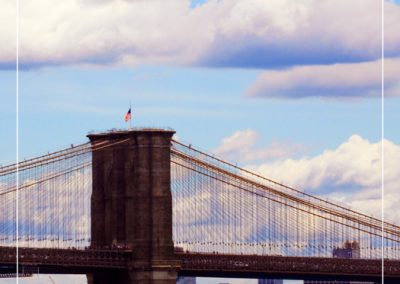 Vue du Brooklyn bridge