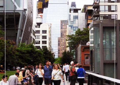 Promenade sur la High Line