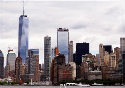 Manhattan vue du ferry