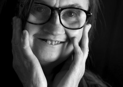 Portrait de Carole fait par Peggy Le Déaut
