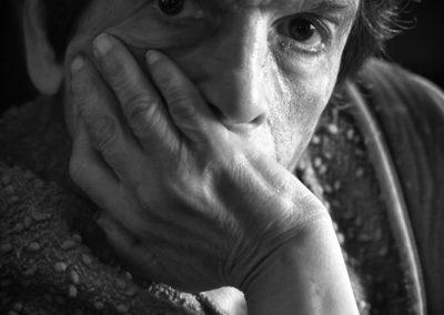 Portrait de Françine fait par Peggy Le Déaut