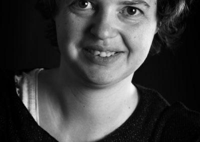 Portrait de Jennifer fait par Peggy Le Déaut