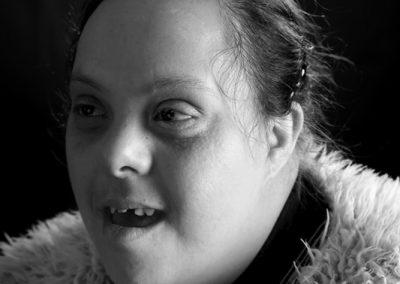 Portrait de Leïla fait par Peggy Le Déaut