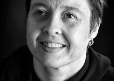 Portrait de Nathalie fait par Peggy Le Déaut