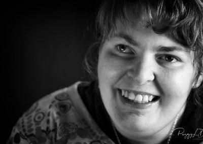 Portrait de Pauline fait par Peggy Le Déaut