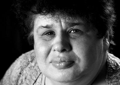 Portrait de Salima fait par Peggy Le Déaut